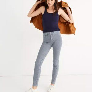 Madewell 9″ Mid-Rise Skinny Jeans in Piper Stripe